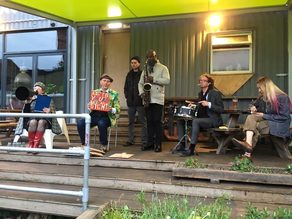Apathy Band Acoustic Set Grow Bar